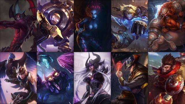 League of Legends - Ücretsiz Şampiyon Rotasyonu (2015 Sezonu, 4. Hafta)