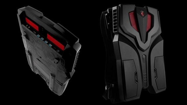 Sırtüstü Taşınabilen MSI VR One Ön Siparişe Açıldı