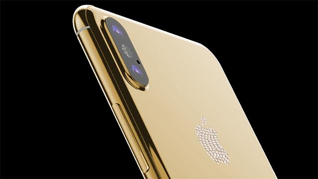 Altın Kaplama iPhone 8 Ön Siparişe Açıldı