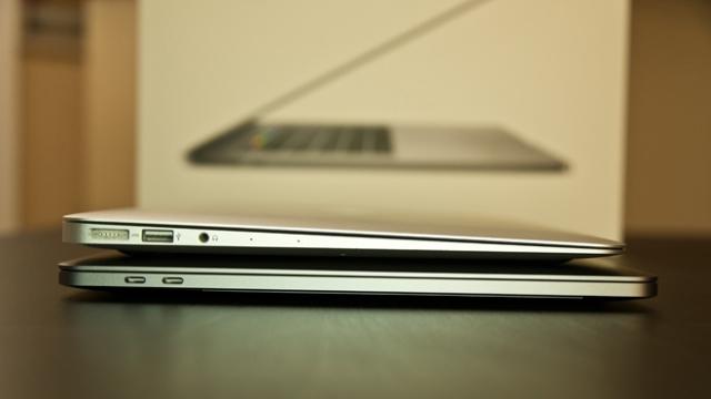 MacBook Pro (13 inç, 2017 Ortası) ve MacBook Air (13 inç, 2017) Karşılaştırması