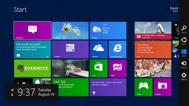 Tüm Windows 8 Kısayolları