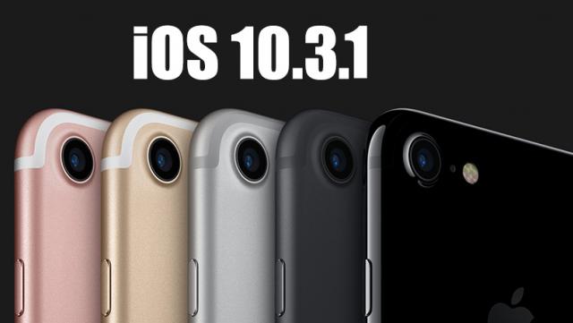 iOS 10.3.1 Yayınlandı! (İndir)
