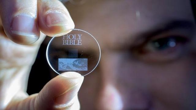 360 TB Veriyi 13 Milyar Yıl Saklayabilen Disk Üretildi