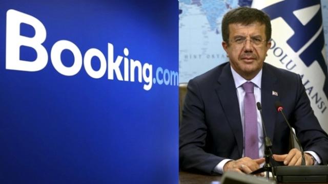 Ekonomi Bakanı 'Booking.com' Hakkında Çözüm Arıyor