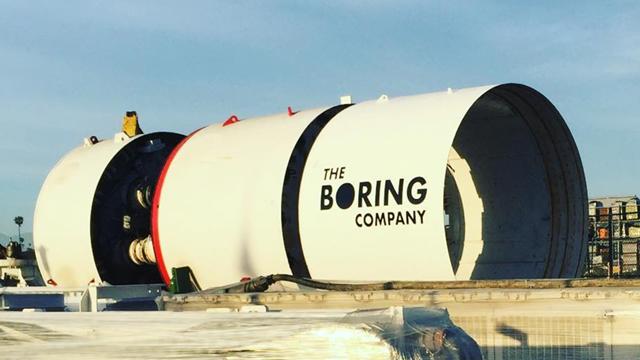 Elon Musk'ın Şirketi Yeni Tünelini Kazmaya Başlıyor