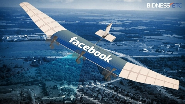Facebook Drone'u Test Esnasında Yere Çakıldı