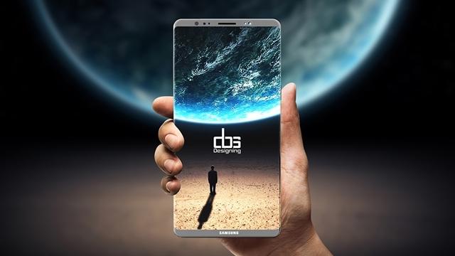 Samsung Galaxy Note 8, Çalışır Halde Test Edildi