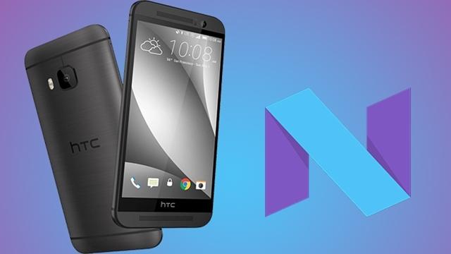 HTC One M9 için Android 7.0 Nougat Güncellemesi Türkiye'ye Geldi