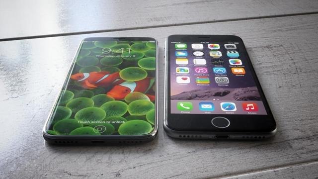 iPhone 8'in Boyutu iPhone 7'den Büyük Olacak