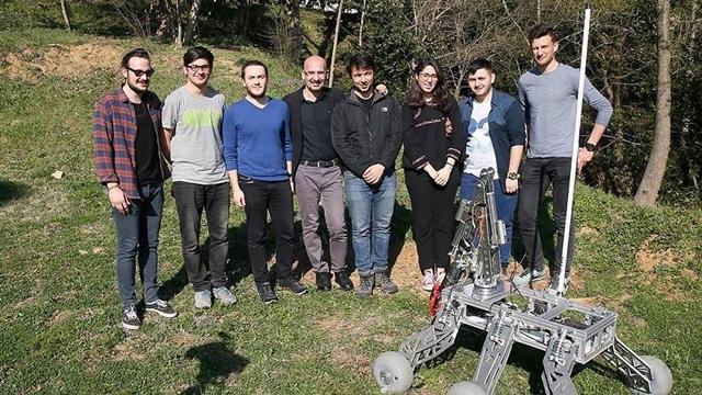 İTÜ Öğrencileri İnsansız Kara Aracı Üretti