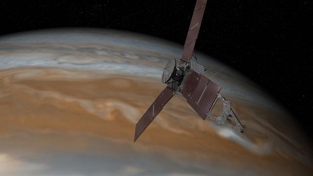 NASA, Büyük Kırmızı Leke Fırtınasının Sırrını Çözüyor