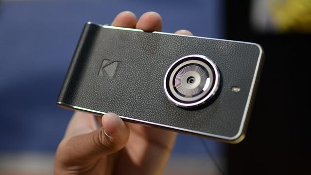 Kodak'ın Güçlü Kamera Özelliklerine Sahip Akıllı Telefonu Satışa Çıktı