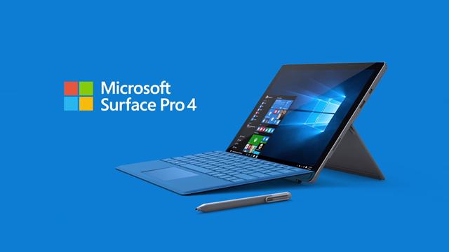 Microsoft Surface Pro 4'ün Yeni Sürümü 100 Dolar Daha Ucuz