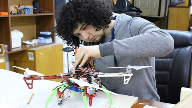 Türk Öğrencilerin Model Uydusu Amerika Yolunda