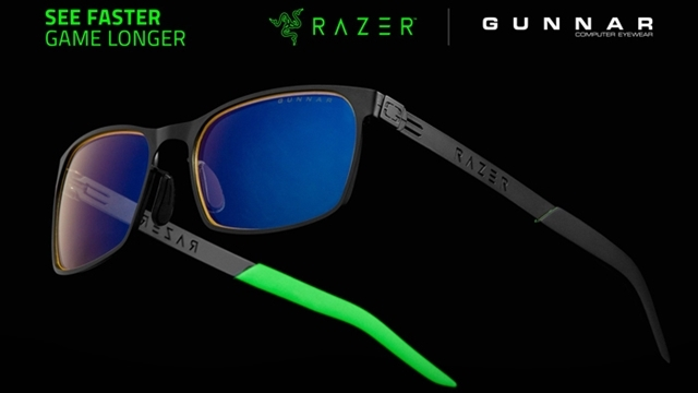 Razer ve Gunnar Oyuncular için Özel Gözlük Yaptı