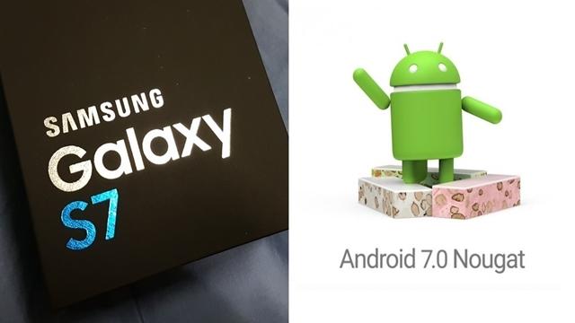 Samsung Galaxy S7 ve Galaxy S7 Edge için Yeni Android Nougat Beta Çıktı