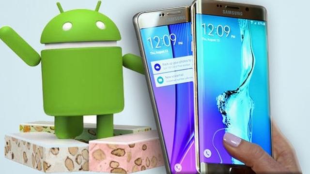 Samsung, Android 7.0 Nougat Güncellemesi Alacak Cihazları Açıkladı