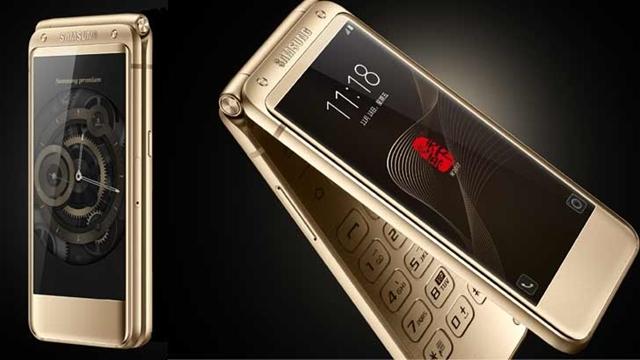 Kapaklı Telefonlar Samsung W2017 ile Geri Dönüyor