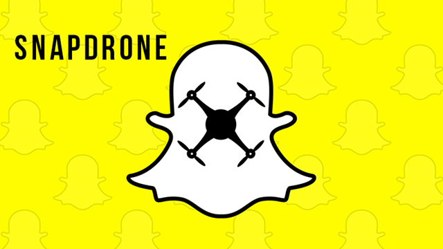 Snapchat Kendi Drone'unu Üretiyor