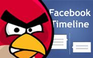 Angry Birds Artık Facebook Zaman Tüneli'nden Oynanabiliyor