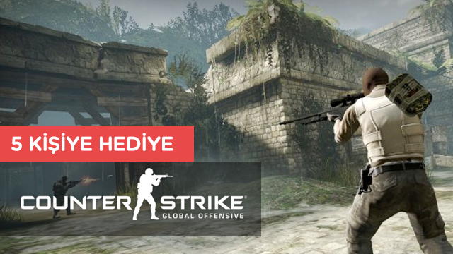 5 Takipçimize Counter Strike: Global Offensive Hediye