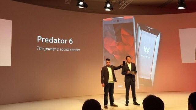Acer'ın Projeksiyonlu Telefonu Predator 6!