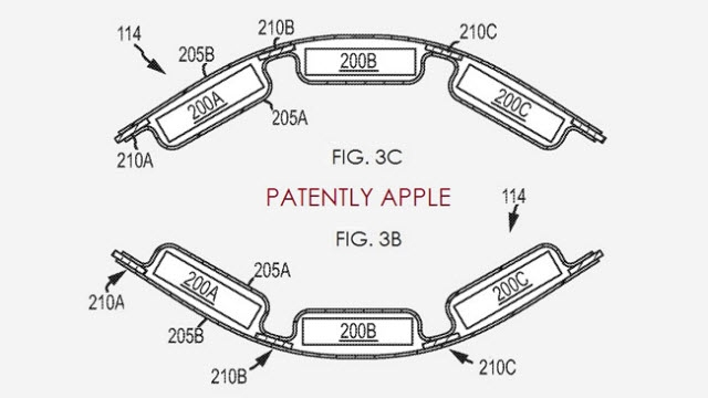 Apple'ın Esnek Batarya Patenti iWatch İçin mi?