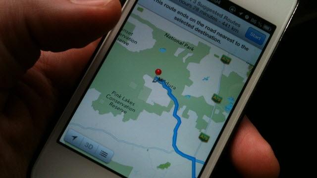 Apple Haritalarını Düzeltmek İçin Foursquare Desteği