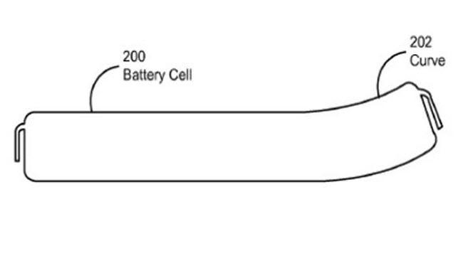 Apple İncelik İçin Kavisli Batarya Kullanacak