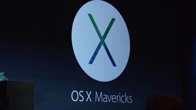 Apple'ın Yeni İşletim Sistemi: Mac OS X Mavericks