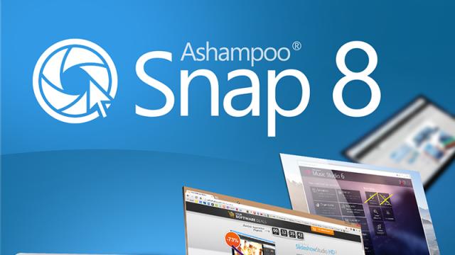 Ashampoo Snap 8 Yayınlandı, 40 Lisanstan Birini Kapın! - Sonuçlar Yayınlandı