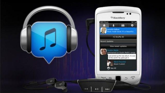 Blackberry BBM Music Servisini Kapatıyor