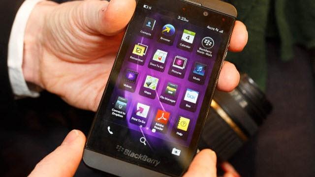 BlackBerry'nin Gelirleri Artıyor Ancak Hala Zararda