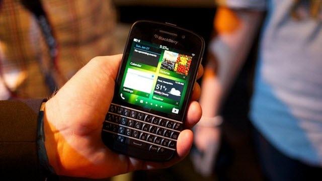 BlackBerry Q10 ve Z10 Fransa'da Lider Akıllı Telefonlar Oldular