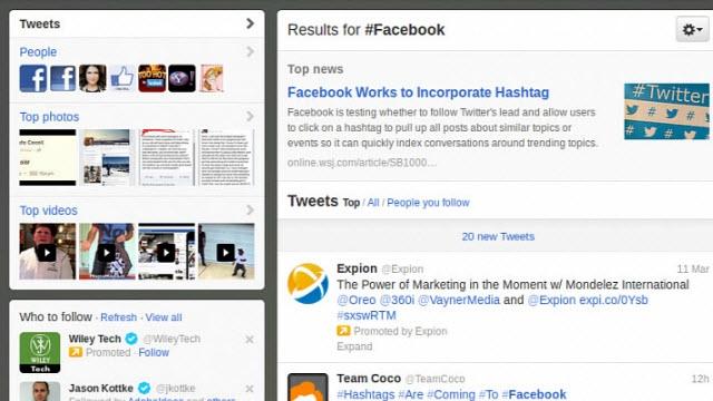 Facebook Twitter'ı Yenmek İçin Etiket Sistemini Aktifleştirecek