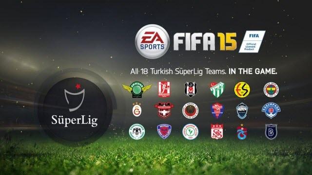 Türkiye Futbol Ligi Artık FIFA 15'te!