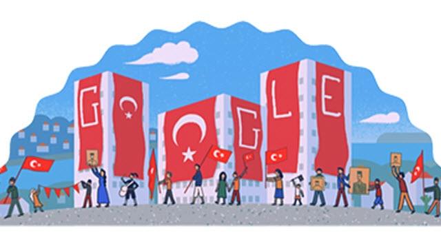Google'dan Türkiye Cumhuriyeti'nin 90. Yılı Sürprizi
