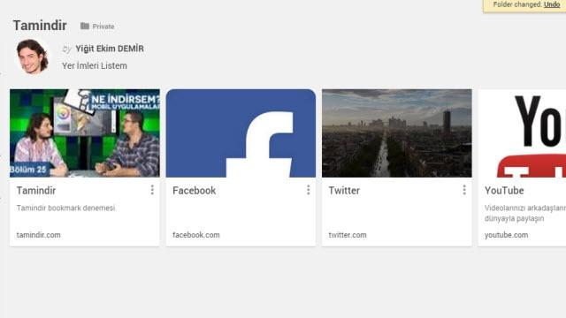 Google, Bookmark Manager Eklentisini Yayınladı