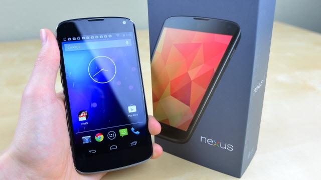 Google Nexus 4'ün 1 Milyondan Fazla Sattığı Düşünülüyor