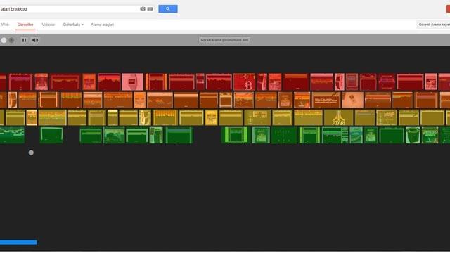 Google'dan Sürpriz Şaka Atari Breakout Oyunu