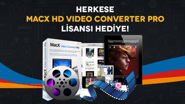 Herkese Mac ve Windows İçin Video Dönüştürme Programı Lisansı