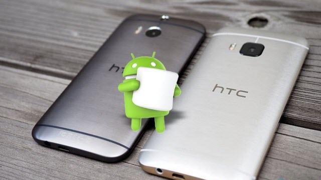 HTC'den One M8 ve One M9 Sahiplerine Android 6.0 Marshmallow Müjdesi
