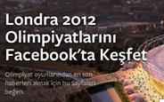 Facebook Londra 2012 Olimpiyatları İçin Özel Sayfa Hazırladı