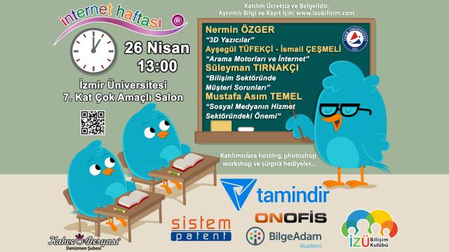 Tamindir Ana Sponsorluğuyla İnternet Haftası 2014 İzmir'de Düzenleniyor
