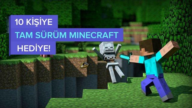 Kampanyamıza Katılın, Tam Sürüm Minecraft Kazanın! (Kazananlar Belli Oldu)