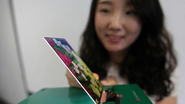 LG'den Dünyanın En İnce Full HD LCD Ekranı