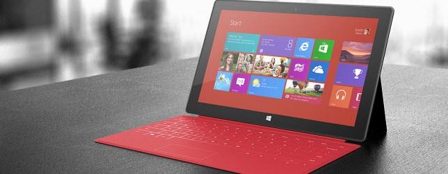 Microsoft Surface Tablet Yüzünden Dava Edildi