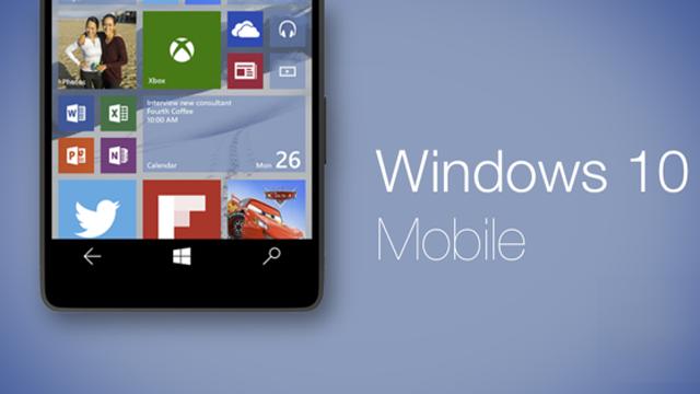 Microsoft, Windows 10 Mobile'ın Gücüne Güveniyor