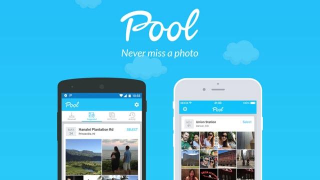 Mobilden Fotoğraf Paylaşmanın Yeni Yolu Pool Yayınlandı
