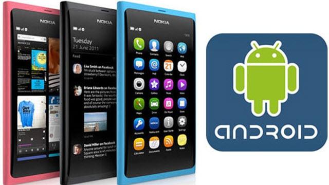 Nokia Android Telefon Üretebilir